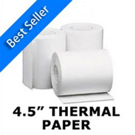"4.5"" Thermal Paper Rolls (qty24)"