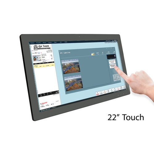 "22"" Base TOUCH Monitor (non-kiosk only)"