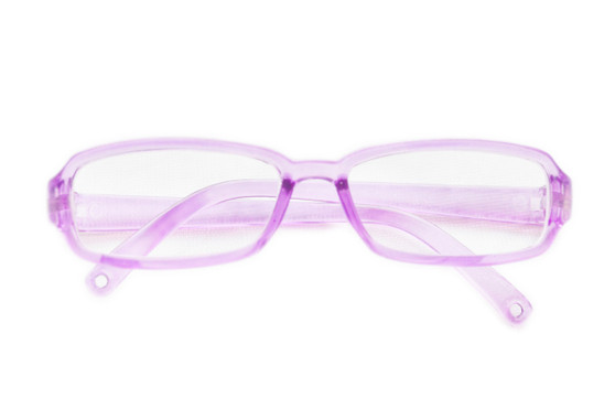 GLASSES MODERN PURPLE ( WHY PAY $2.00 )
