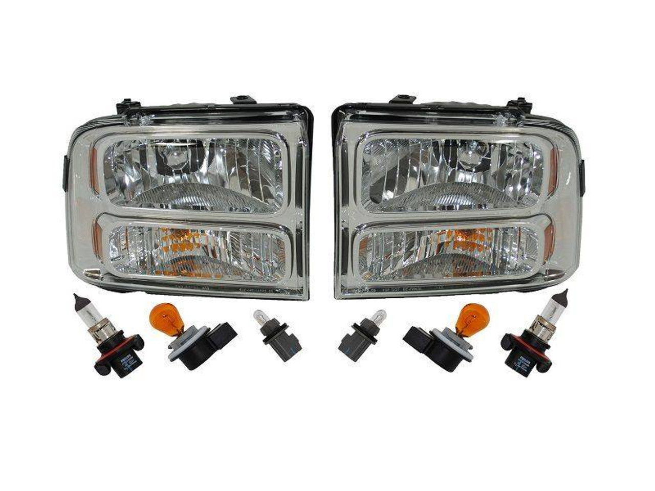 2005-2007 Ford Freestyle LH Drivers Side Headlight Headlamp OEM 38699