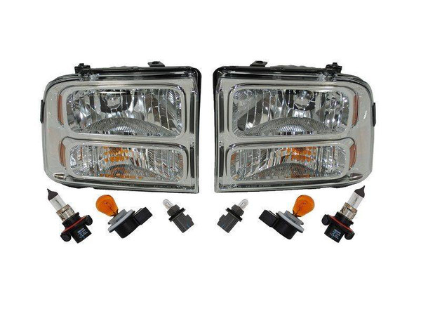 2007 Superduty Headlights for 1999-2007 Ford Superduty and Excursion