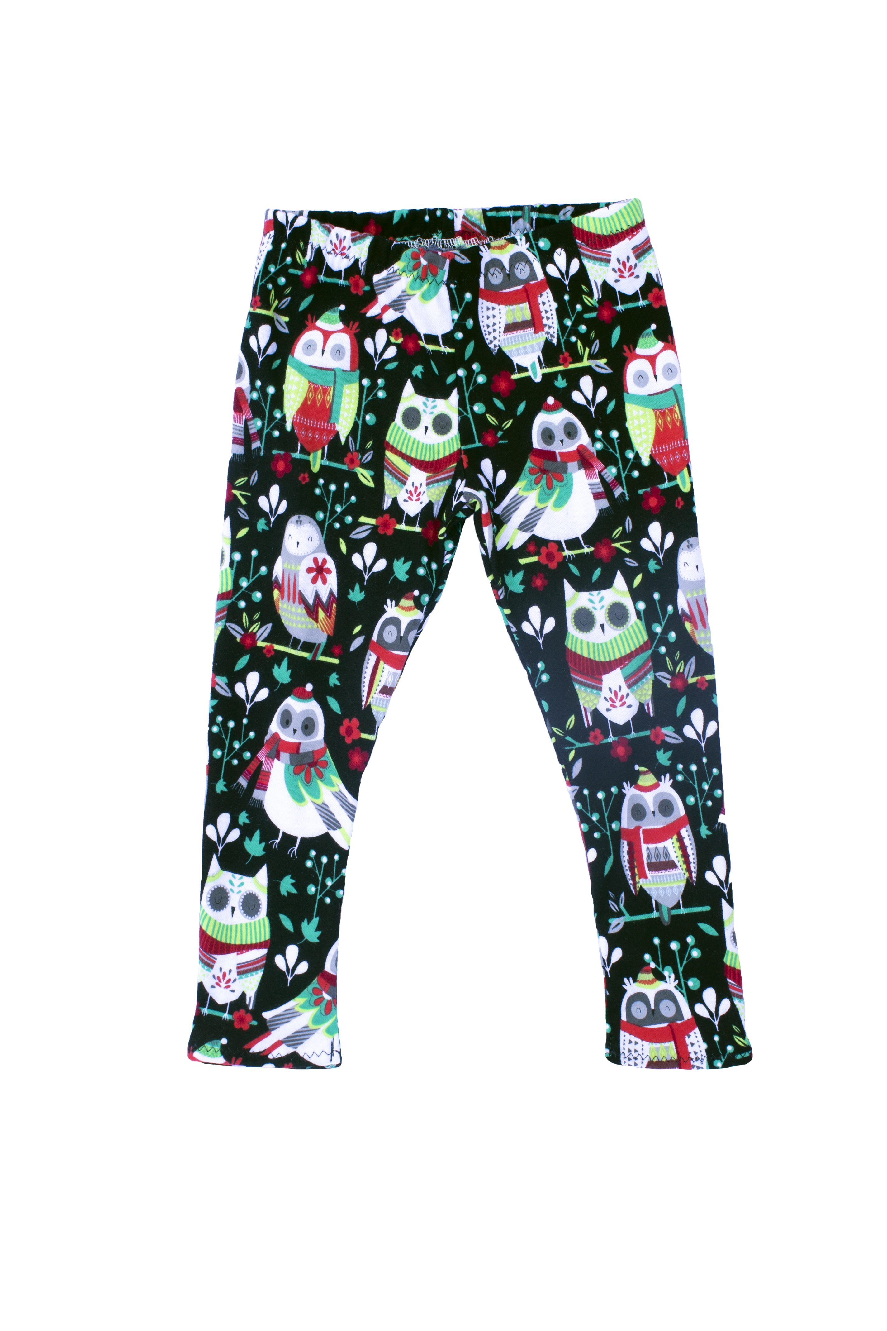 The Owl Holiday Leggings for Baby & Toddler