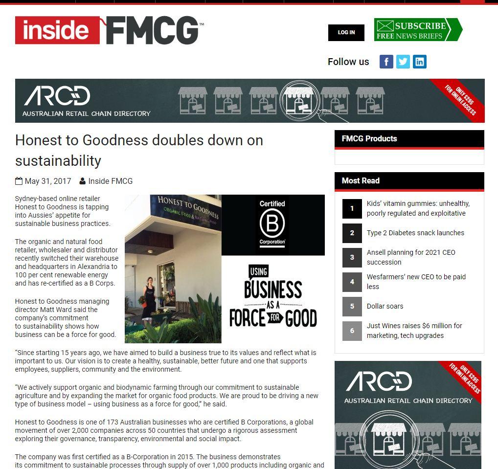 Inside FMCG