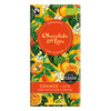 Chocolate and Love Fairtrade Organic Orange 65% Dark Chocolate 80g