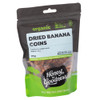 Organic Dried Banana Coins 175g