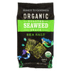 Organic Roasted Seaweed Snack - Sea Salt 4g