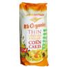 Organic Corn Cake Thins - Linseed & Sesame 150g