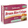 DeliGrains Brown Rice Crisps Quinoa 100g