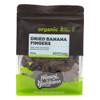 Organic Dried Banana Fingers 500g