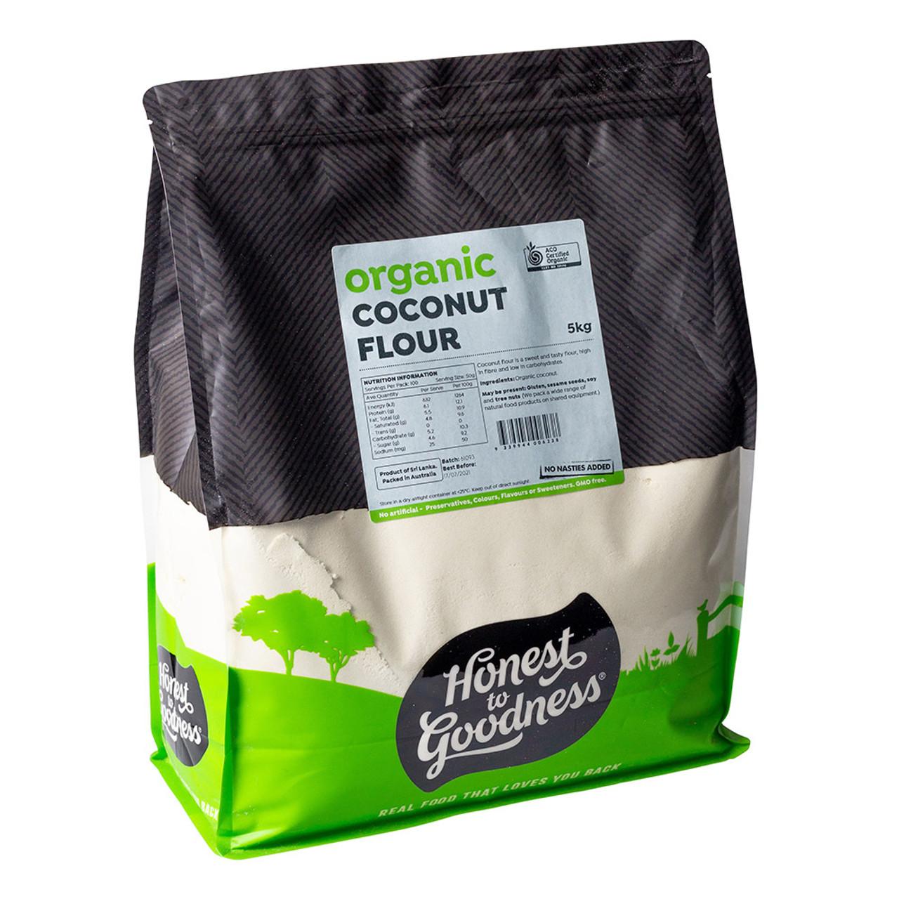 Organic Coconut Flour 5kg Gluten Free Bulk