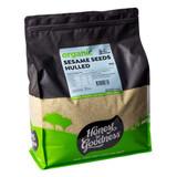 Organic Hulled Sesame Seeds 5KG