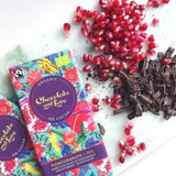 Fairtrade Organic Pomegranate 70% Dark Chocolate 80g