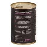 Organic Black Beluga Lentils 400g