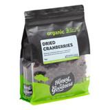 Organic Dried Cranberries 1KG