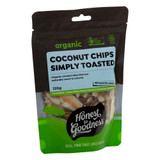 Organic Coconut Chips - Simply Toasted 120g