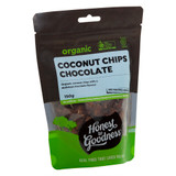 Organic Coconut Chips - Chocolate 150g
