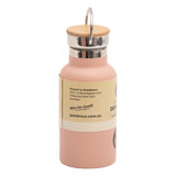 Stainless Steel Drink Bottle 350ml - Pink