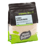 Organic White Long Grain Rice 1.5KG