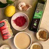Beetroot Hummus Ingredients by Honest to Goodness