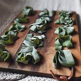 Speckled Khorasan Spinach Pasta