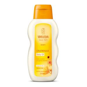 Calendula Baby Oil Fragrance Free 200ml