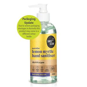Lemon Myrtle Hand Sanitiser 250ml