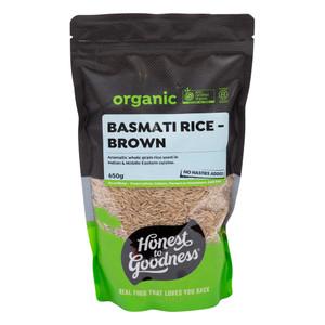 Organic Brown Basmati Rice 650g