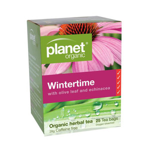Organic Winter Time Tea Bags x 25