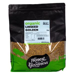 Honest to Goodness Organic Golden Linseeds