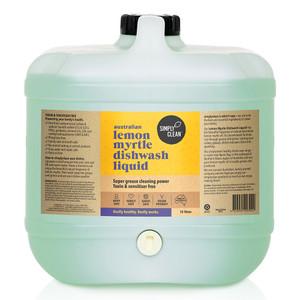 Lemon Myrtle Dishwash Liquid 15L