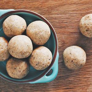 Creamy Coconut & Vanilla Bean Protein Balls