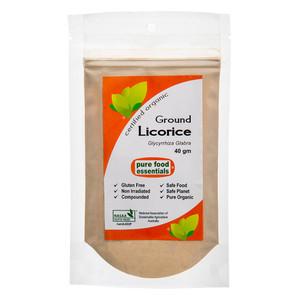 Organic Licorice Powder 40g