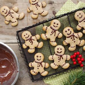 Tahini Gingerbread Cookies