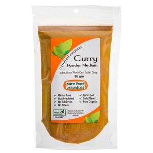 Organic Curry Powder (Medium) 80g