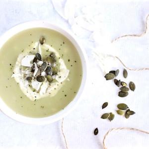 Cleansing Lettuce & Coconut Soup