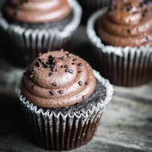 Flourless Chocolate Cupcakes | Gluten-Free