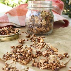 Organic Mesquite & Cacao Granola