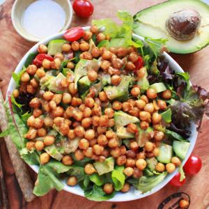 Chickpea & Sweet Sesame Seed Salad
