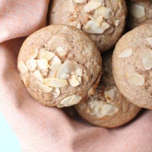 Apple & Buckwheat Muffins
