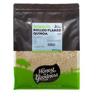 Honest to Goodness Organic Rolled Quinoa