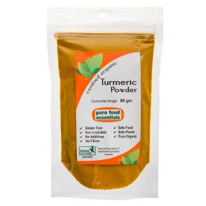 Organic Turmeric Powder 80g