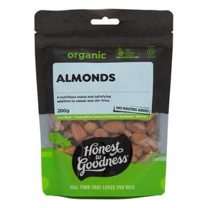 Organic Almonds 200g