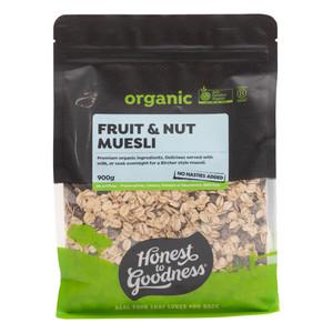 Organic Fruit & Nut Muesli 900g