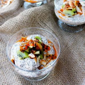 Mesquite & Coconut Chia Pudding