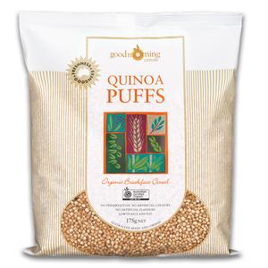 Organic Quinoa Puffs 175g