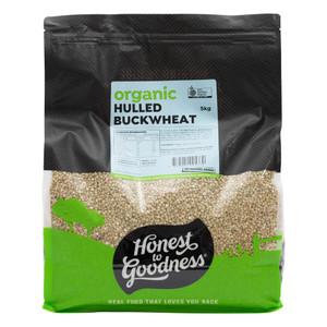 Organic Hulled Buckwheat 5KG
