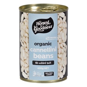 Honest to Goodness Organic Cannellini Beans