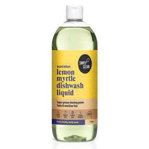 Lemon Myrtle Dishwash Liquid 1L