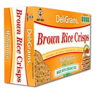 Brown Rice Crisps Multigrain 100g