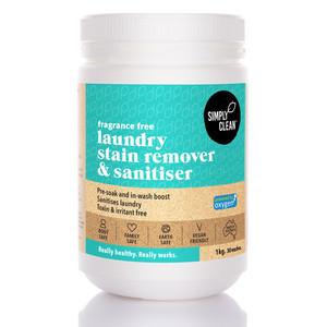 Fragrance Free Laundry Stain Remover & Sanitiser 1KG
